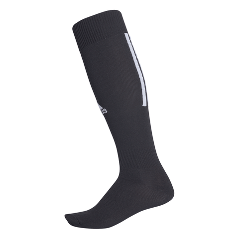 ADIDAS SANTOS 18 BLACK SMALL SOCCER SOCK  (5-6.5)