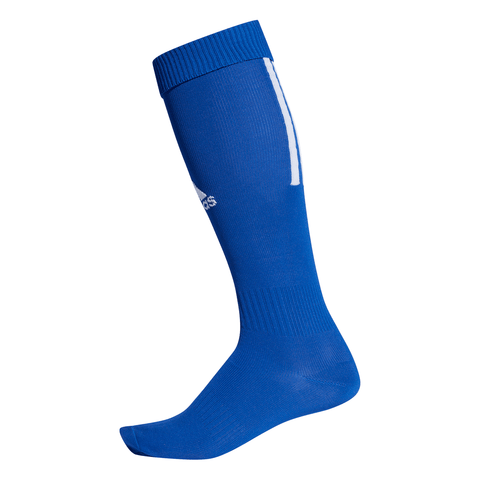 ADIDAS SANTOS 18 BLUE SMALL SOCCER SOCK  (5-6.5)