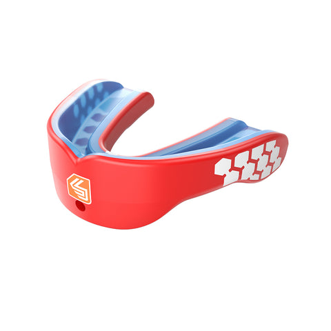 SHOCK DOCTOR SR GEL MAX POWER RED CONVERT MOUTHGUARD