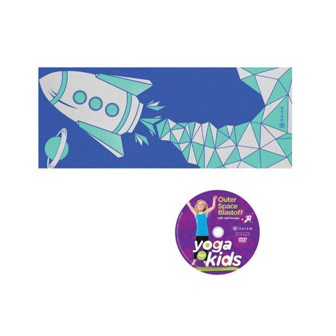GAIAM KIDS YOGA KIT BLUE