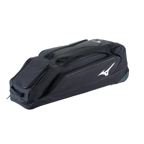 MIZUNO CLASSIC G2 BLACK WHEELED BASEBALL BAG