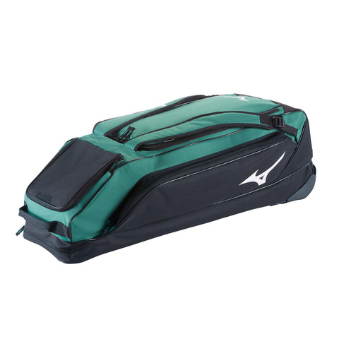MIZUNO CLASSIC G2 FOREST WHEELED BASEBALL BAG