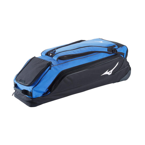 MIZUNO CLASSIC G2 ROYAL WHEELED BASEBALL BAG