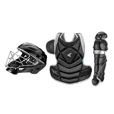 EASTON FUNDAMENTAL JEN SCHRO MEDIUM BLACK FASTPITCH CATCHER BOX SET