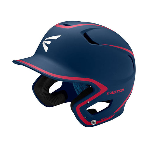 EASTON SENIOR Z5 2.0 2-TONE MATTE NAVY/RED BATTING HELMET