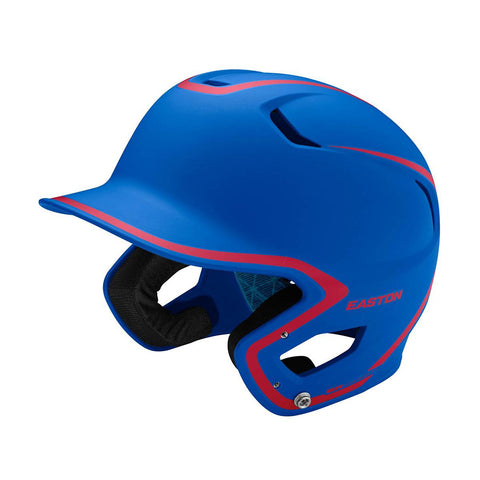 EASTON SENIOR Z5 2.0 2-TONE MATTE ROYAL/RED BATTING HELMET