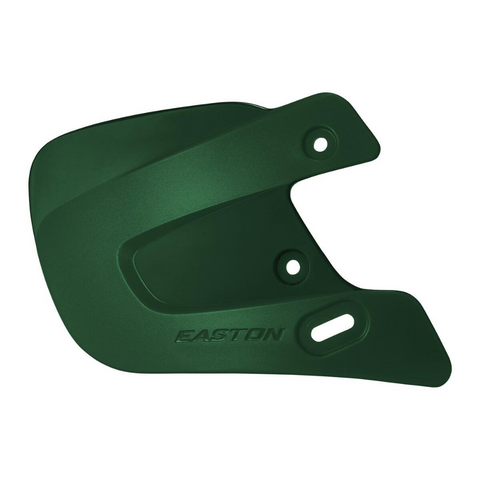 EASTON EXTENDED JAW GUARD GREEN RIGHT HAND BATTER