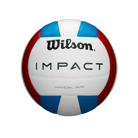 WILSON IMPACT RED/WHITE/BLUE VOLLEYBALL