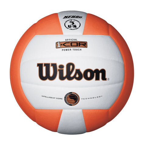 WILSON I-COR POWER TOUCH ORANGE VOLLEYBALL