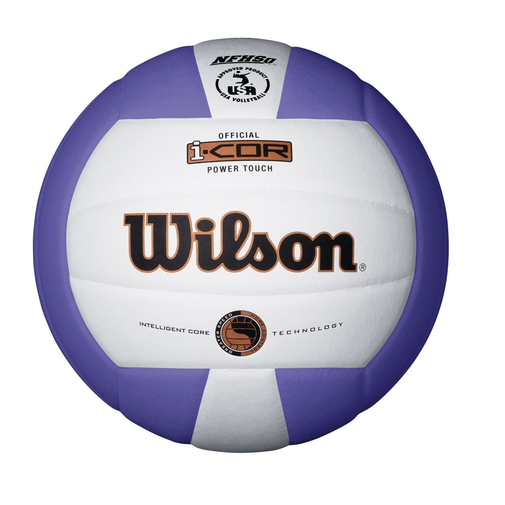 WILSON I-COR POWER TOUCH PURPLE VOLLEYBALL