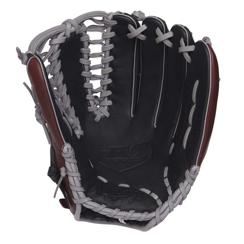 RAWLINGS R9 FINGERSHIFT 12.75 INCH TRAP-EZE OUTFIELD BASEBALL GLOVE RIGHT HAND THROW