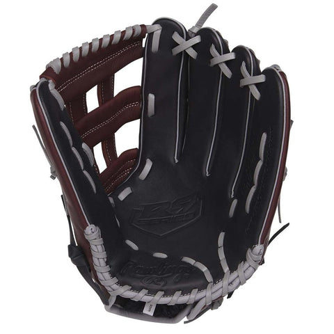 RAWLINGS R9 12.75 INCH PRO H-WEB OUTFIELD BASEBALL GLOVE RIGHT HAND THROW