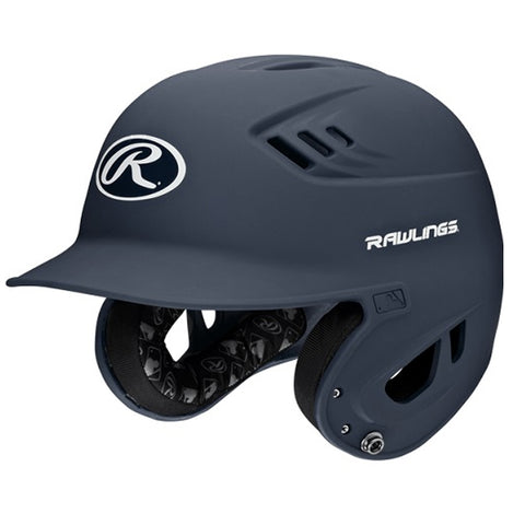 RAWLINGS JUNIOR VELO MATTE NAVY BATTING HELMET