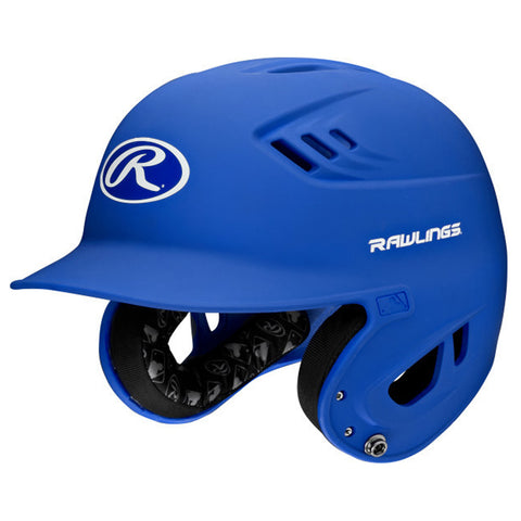 RAWLINGS JUNIOR VELO MATTE ROYAL BATTING HELMET