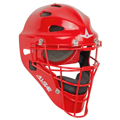 ALL STAR SENIOR PLAYER SERIES SCARLET CATCHER MASK
