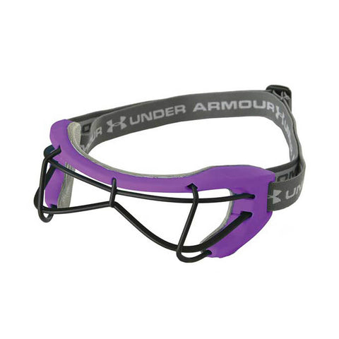 UNDER ARMOUR FUTURES PURPLE WOMEN'S FIELD LACROSSE/FIELD HOCKEY GOGGLES