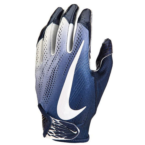 NIKE VAPOR KNIT 2.0 COLLEGE NAVY/WHITE L FOOTBALL GLOVE