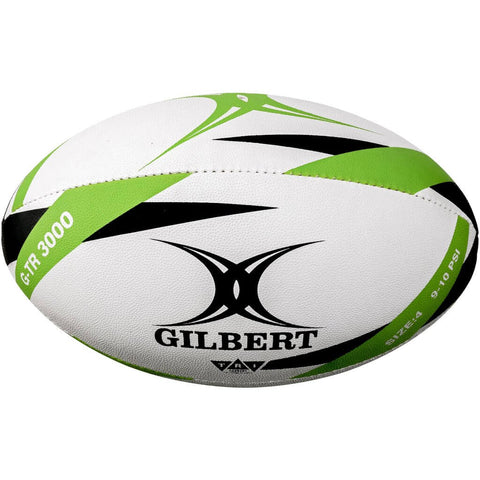 GILBERT G-TR3000 GREEN SIZE 4 RUGBY TRAINER BALL