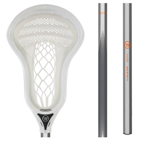 WARRIOR FATBOY BURN WARP WHITE LACROSSE STICK