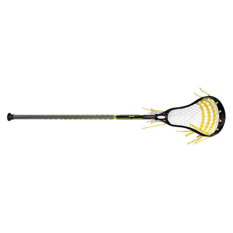 WARRIOR JUNIOR FATBOY NEXT BLACK LACROSSE STICK
