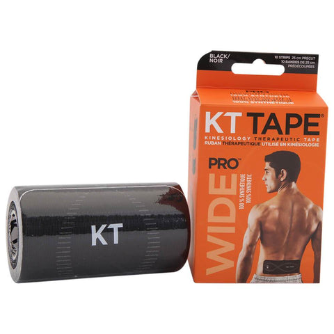 KT TAPE PRO WIDE BLACK
