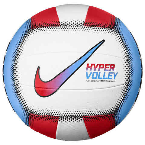 NIKE HYPERVOLLEY RED/BLUE 18P BEACH VOLLEYBALL