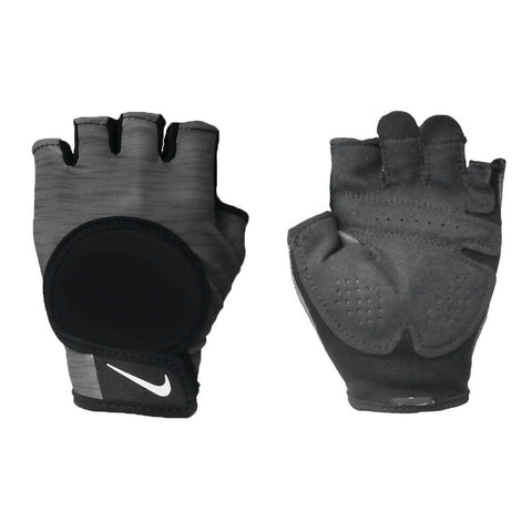 NIKE WOMEN'S GYM ULTIMATE GREY FITNESS GLOVE
