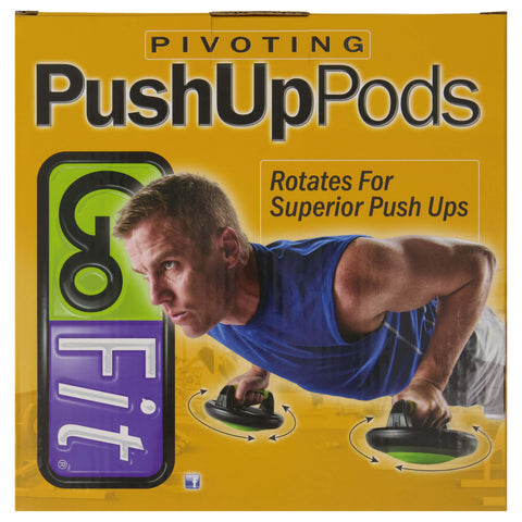 GO FIT PIVOTING PUSH UP PODS