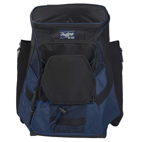 RAWLINGS R600 PLAYERS NAVY BASEBALL BACKPACK