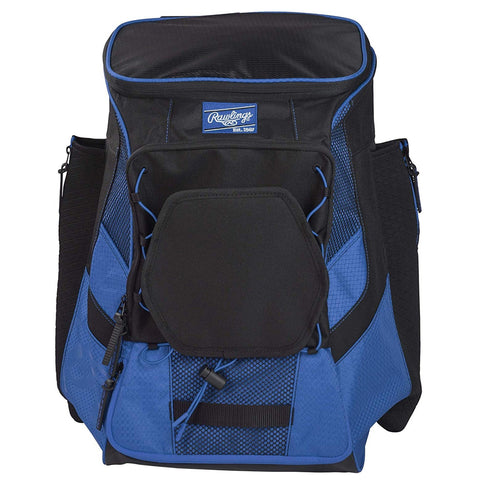RAWLINGS R600 PLAYERS ROYAL BASEBALL BACKPACK
