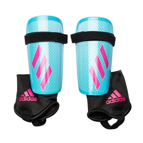 ADIDAS X CLUB SHINGUARD BRCYAN/SHOPIN/BLACK