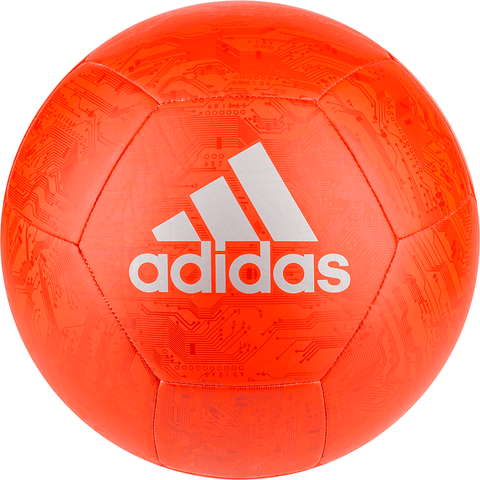 ADIDAS CAPITANO SOLAR RED/ACTIVE RED/SILVERMT SOCCER BALL