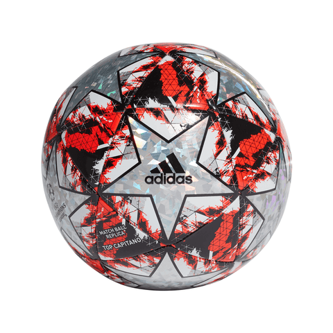 ADIDAS FINALE TOP CAPITANO MULTCO/HIRERE/BLACK/SILVERMT SOCCER BALL