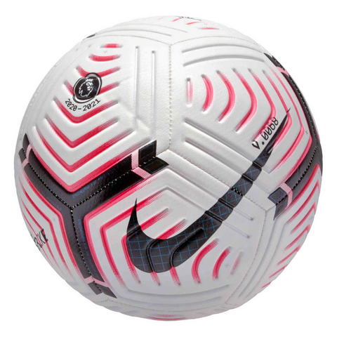NIKE PREMIER LEAGUE STRIKE  WHITE RED BLACK SOCCER BALL