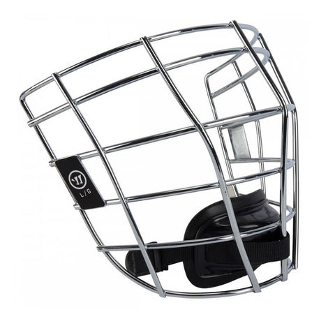 WARRIOR FATBOY 2.0 SILVER LACROSSE FACEMASK