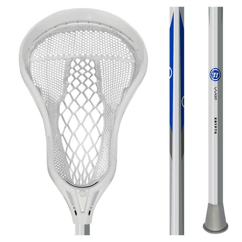 WARRIOR EVO WARP NEXT WHITE LACROSSE STICK