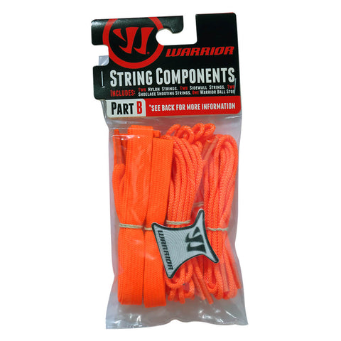 WARRIOR NEON ORANGE LACROSSE STRING KIT