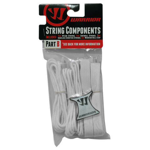 WARRIOR WHITE LACROSSE STRING KIT