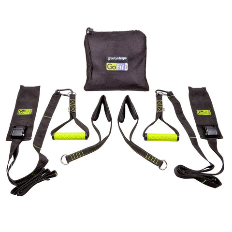 GO FIT GRAVITY STRAP RESISTANCE SET W/BAG