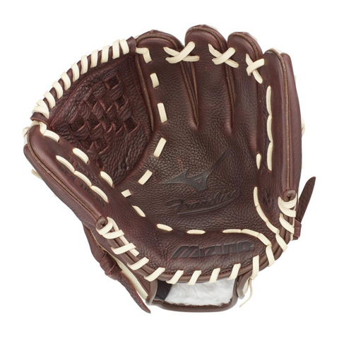 MIZUNO FRANCHISE COFFEE/SILVER 11 INCH BASEBALL GLOVE RIGHT HAND THROW