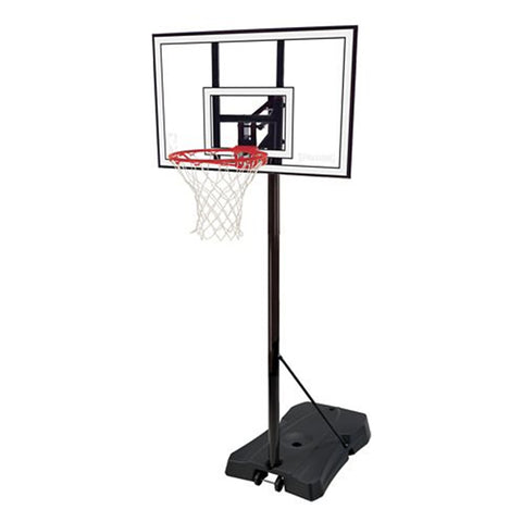 SPALDING POLYCARBONATE HERCULES 44'' BASKETBALL SYSTEM