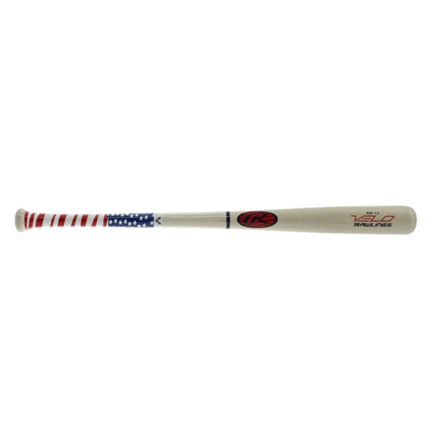 RAWLINGS Y62AV YOUTH VELO -7.5 DROP ASH WOOD BASEBALL BAT