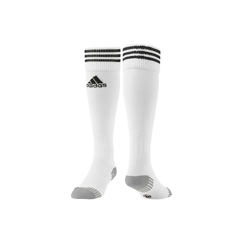 ADIDAS ADISOCK 12 WHITE SMALL 5-6.5 SOCCER SOCK