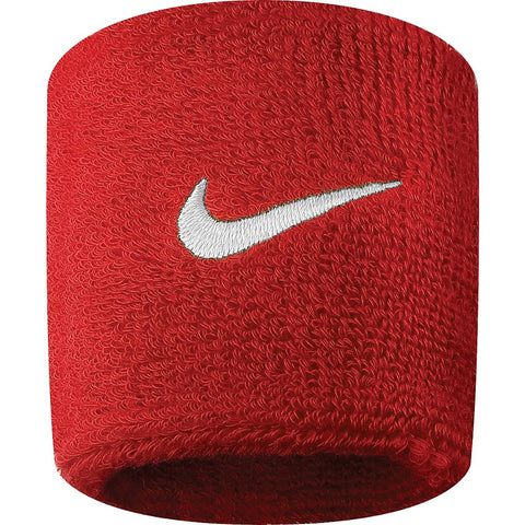 NIKE SWOOSH WRISTBANDS RED/WHITE