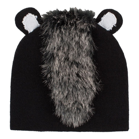 FIREFLY YOUTH FUZZY ANIMAL TOQUE SKUNK