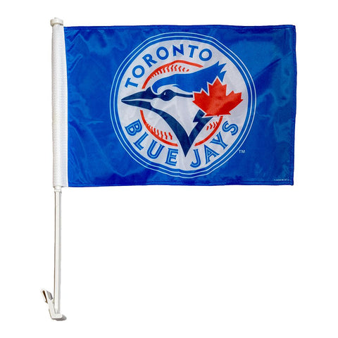 THE SPORTS VAULT TORONTO BLUE JAYS 2 SIDED CAR FLAG