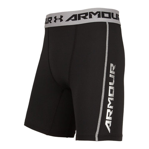 UNDER ARMOUR MEN'S COOLSWITCH COMPRESSION SHORTS BLACK