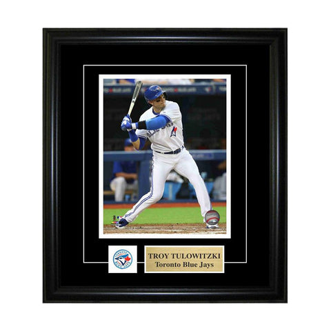 FRAMEWORTH TORONTO BLUE JAYS FRAMED 8X10 PIN AND PLATE TULOWITZKI