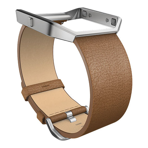 FITBIT BLZ LEATHER BAND CML SML