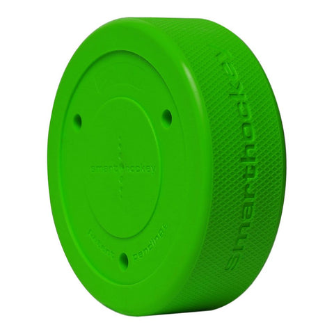 SIDELINES SMART HOCKEY PUCK GREEN